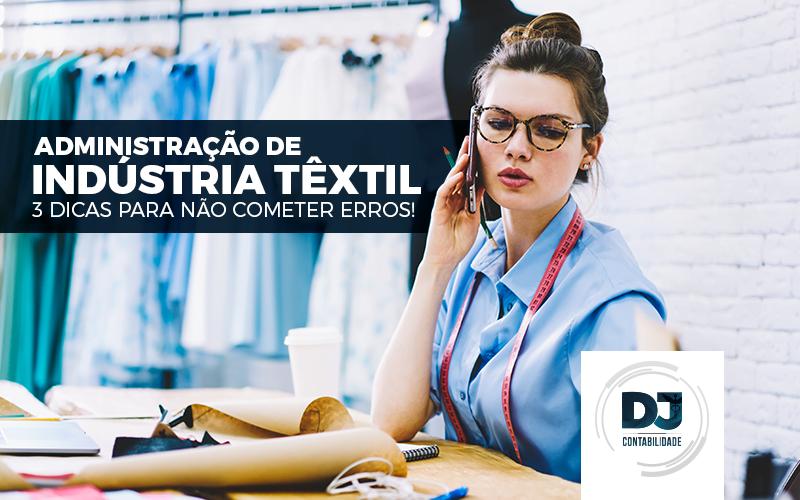 Administração de indústria têxtil