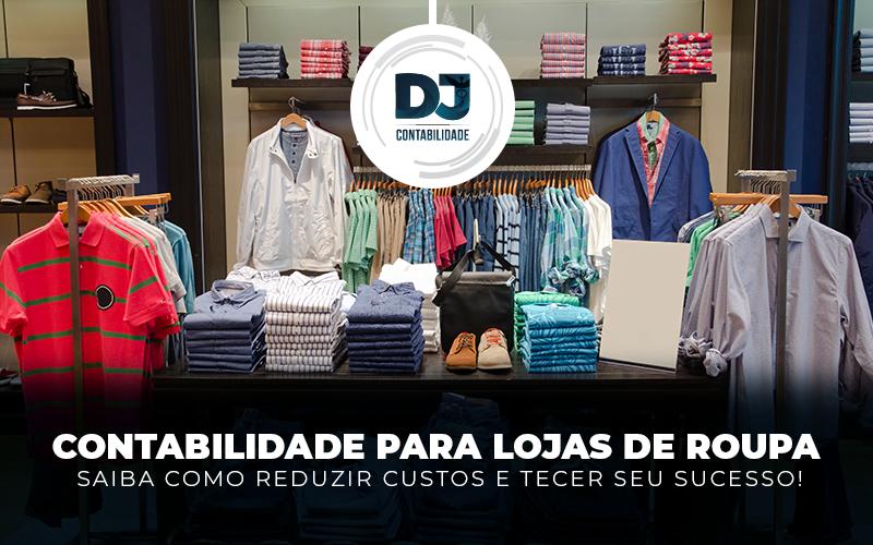 Contabilidade para lojas de roupa