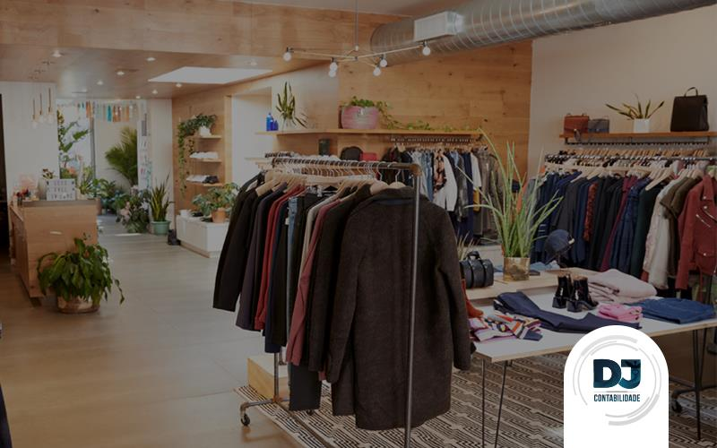 projeto de loja de roupas
